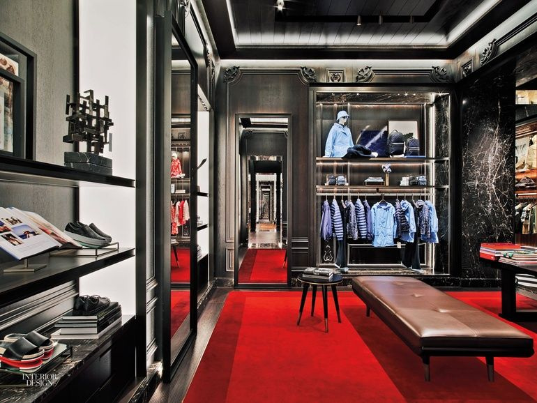 Moncler Nyc Flagship By Gilles Boissier Could Pass For A Grand Parisian Apartment Retail Space Design Apartment Interior Design Interior Design Magazine