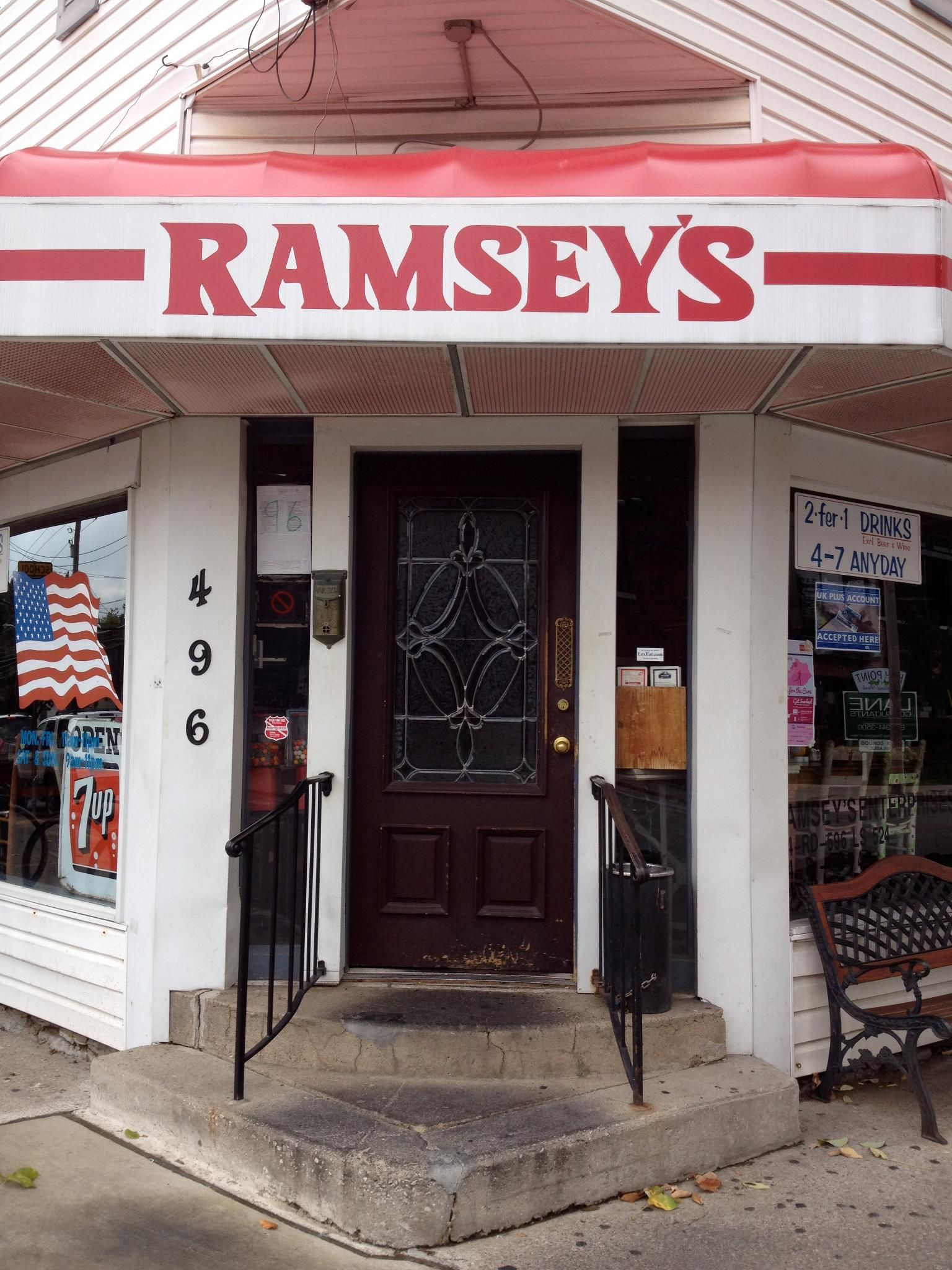 Entry To The Original Ramsey S Restaurant In Lexington Ky Closed It Doors January 20 2017 Moving Zandale