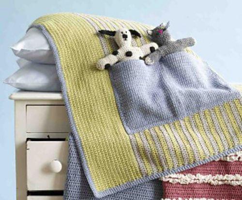 Make It Yours Pocket Pal Blanket Pattern By Lion Brand