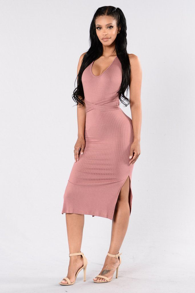 Take On Me Dress – Mauve
