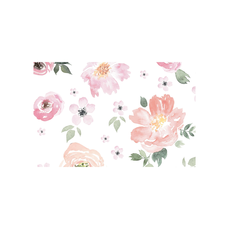 Jolie Wallpaper Light Floral Wallpaper Floral Wall Art Floral