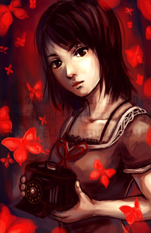 Fatal Frame 2 Mio | Camera Obscura | Pinterest | Fatal frame and ...