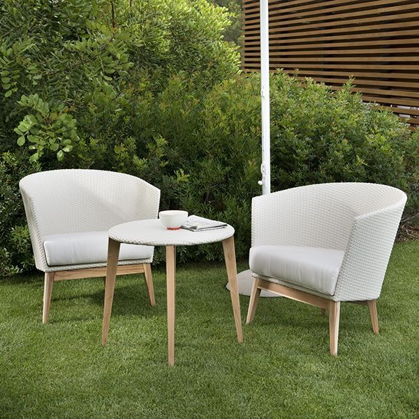 Point, Arc, Chair, Modern, Outdoor, Wicker, Patio, Lounge ...
