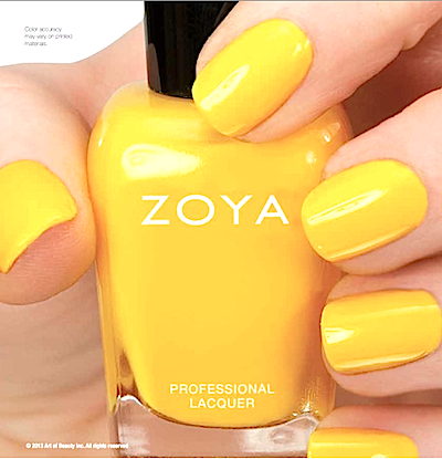 Review, Swatches, Spring/Summer 2013 Nail Polish Trends: Zoya Introduces 12 New Metallic, Neon Shades