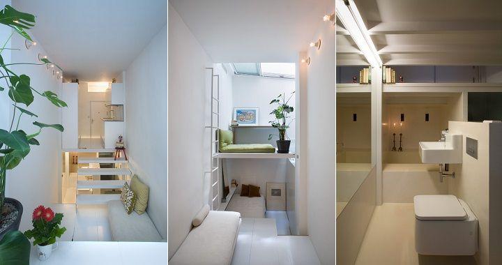 Apartamento de 20 metros cuadrados muy bien aprovechado for Metro cuadrado decoracion