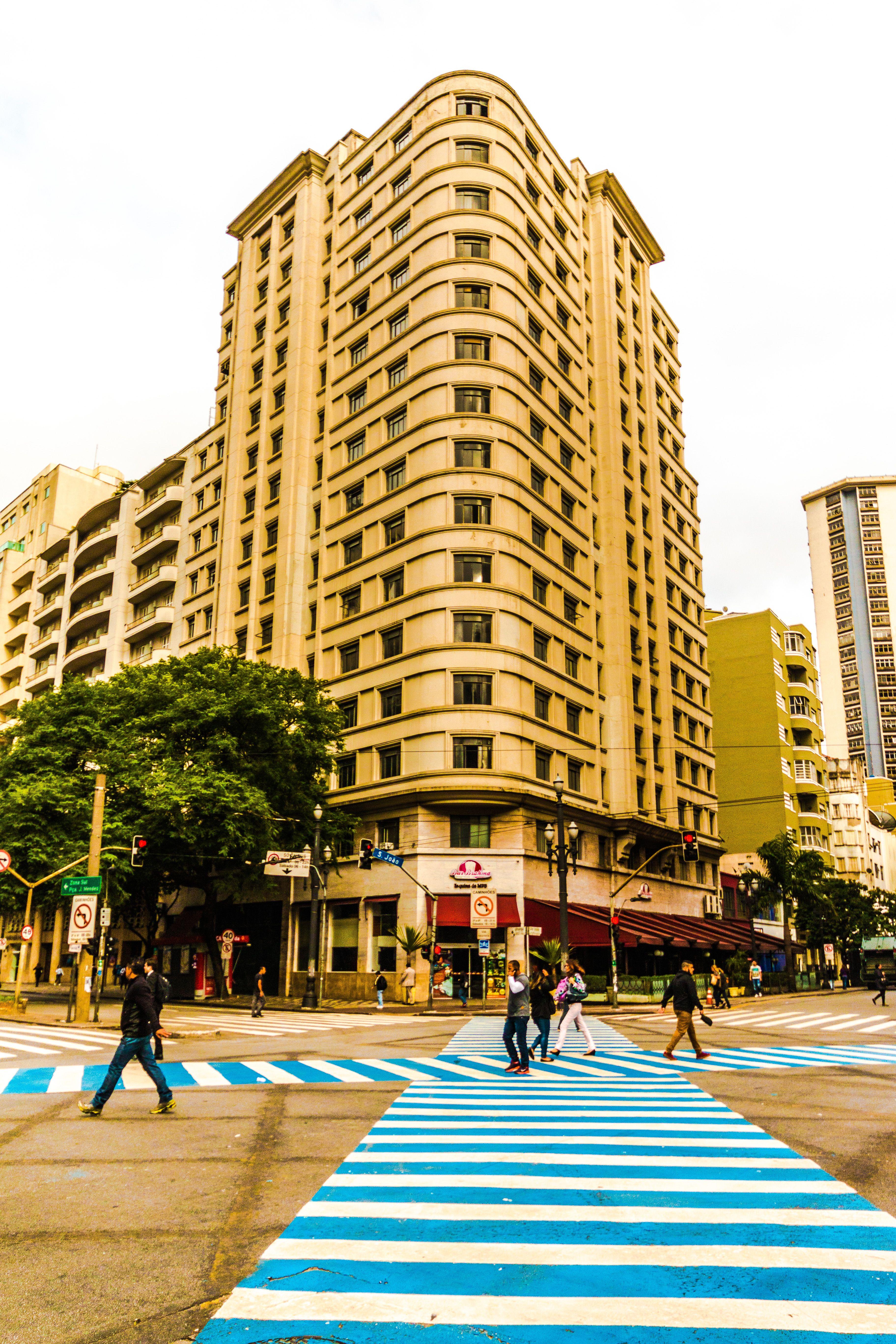 Sao Paulo em movimento.