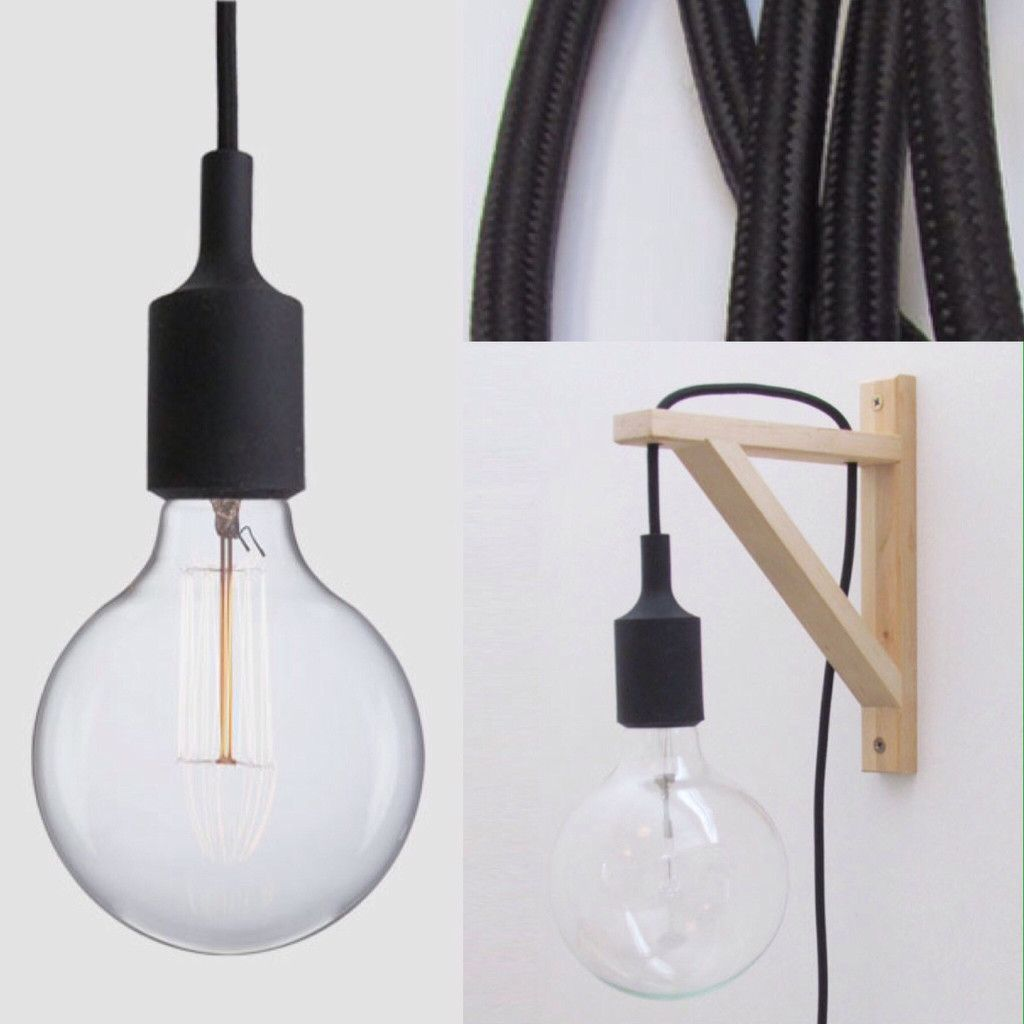 Silicone e adjustable wall lamp with plug chambre pinterest