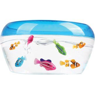 Robo fish play set water activated as seen on tv for Robo fish tank