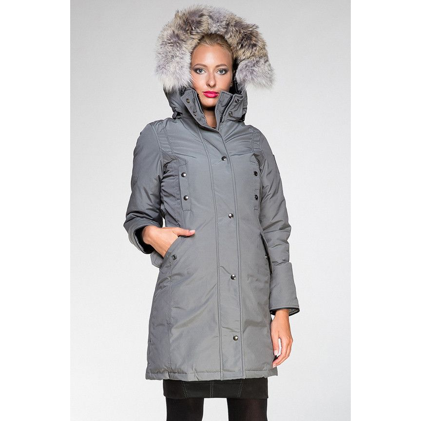 Image for Arctic Bay Charlotte Ladies Parka Grey from SHOP.C | 725 ...