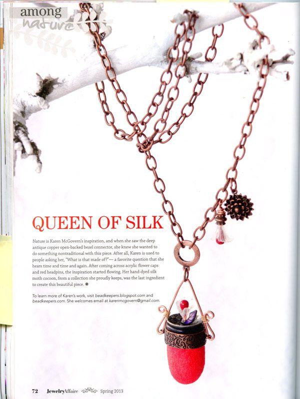 In the Press Jewelry Affaire Magazine Best Craft ideas