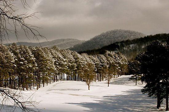 Winter Wonderland Georgia S Blue Ridge Blue Ridge