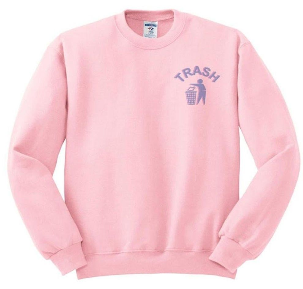 28 Incredibly Cute Pieces Of Clothing You Ll Probably Want On Your Body Like Now Sweatshirts Pastel Sweater Pink Crew Neck Sweater [ 944 x 990 Pixel ]