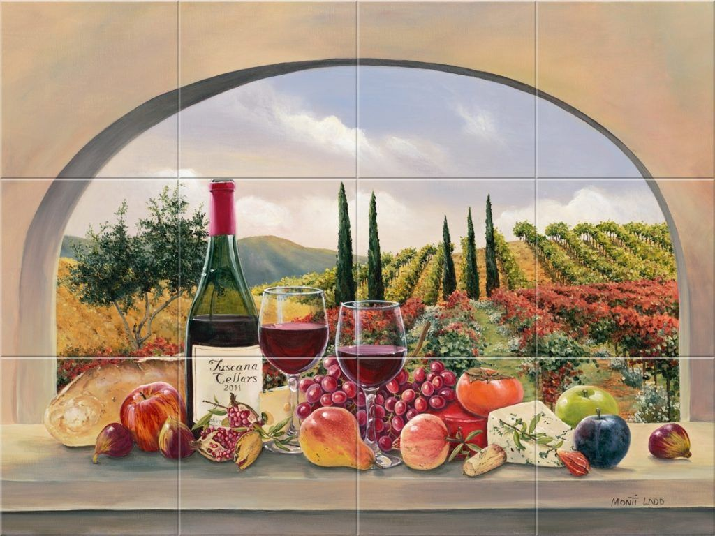 Tile Wall Murals For Kitchen