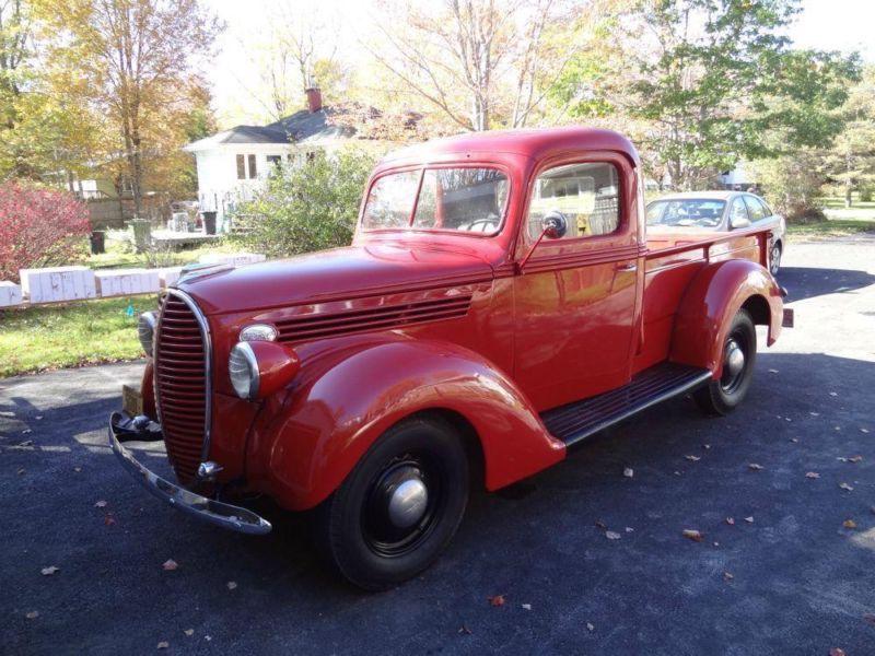 1935 Ford Pickup truck in rusty orange. Great vintage ride ...