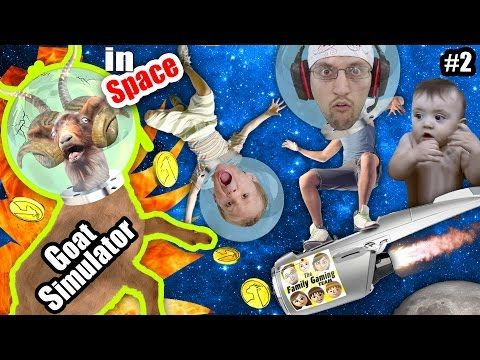 Goat On Fire Fgteev Shawn Chase And Duddy Play Goat Simulator In