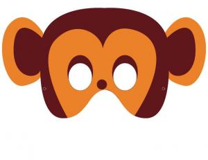 picture relating to Printable Monkey Mask identify Monkey Mask Young children Craft Tips Monkey mask, Animal masks