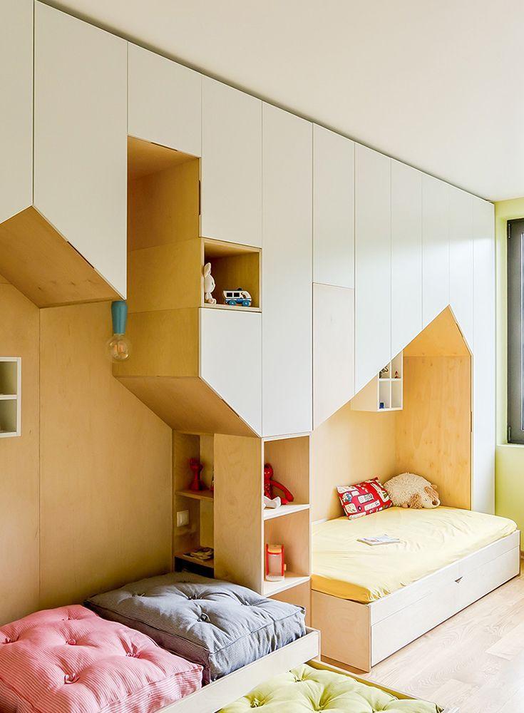 Bau ein Haus im Haus Kinderzimmer tapete, Große