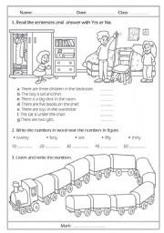 Printable English Worksheets For Primary School Intrepidpath ...