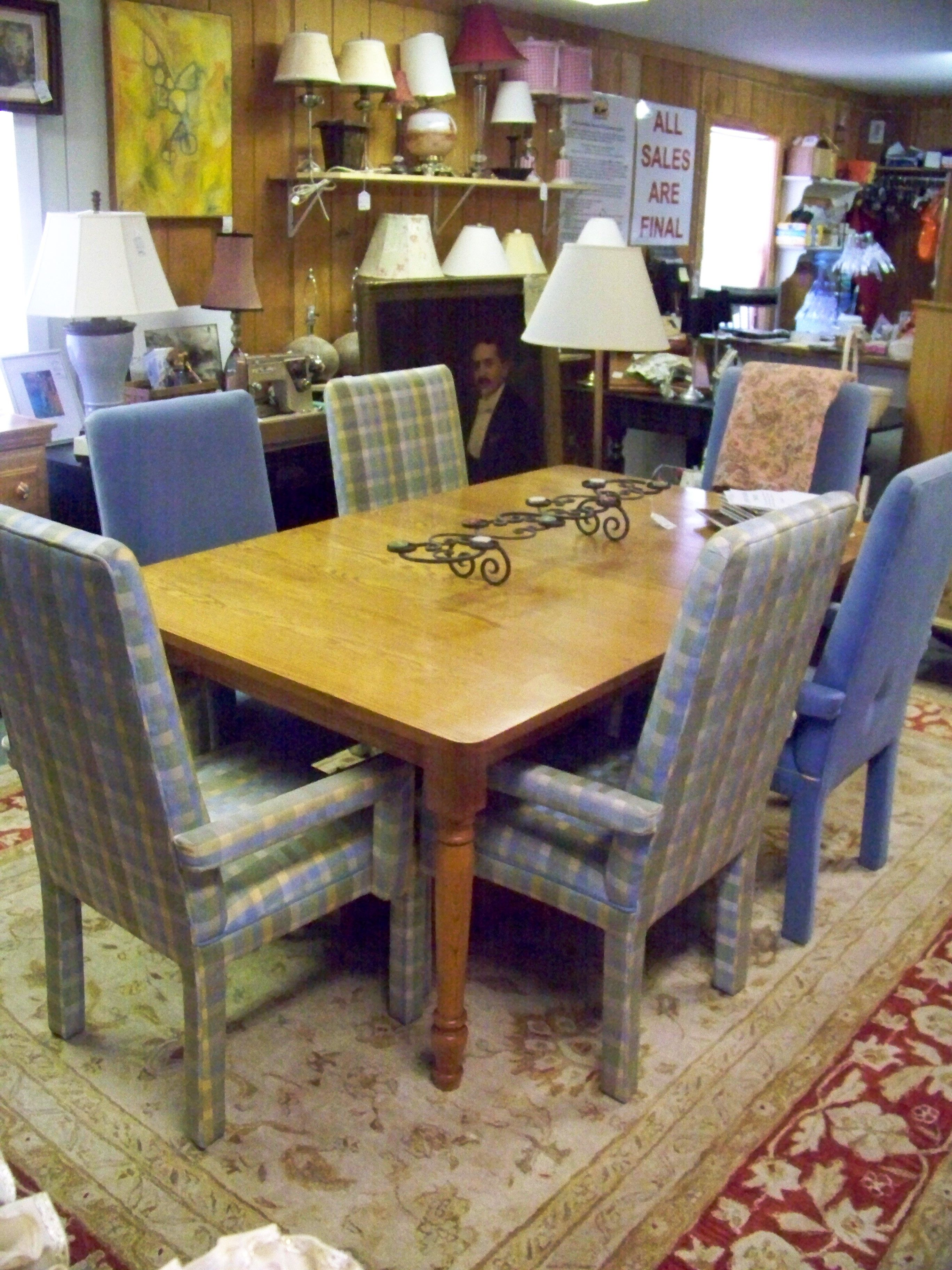 Soldtom Sealy Oak Farm Style Dining Room Settable Extends Up To Mesmerizing Farm Style Dining Room Table Decorating Inspiration