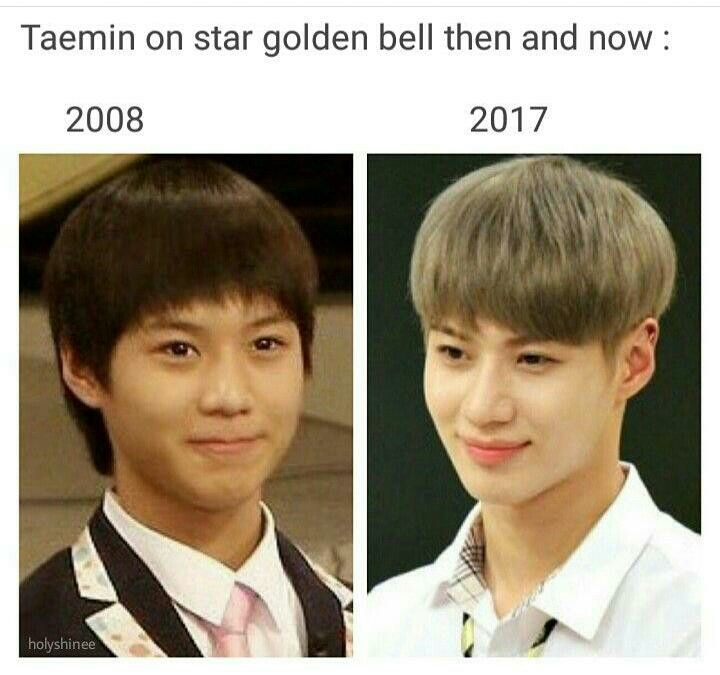 Look At The Glow Up He S Still A Little Baby Though Shinee Taemin The Glow Up