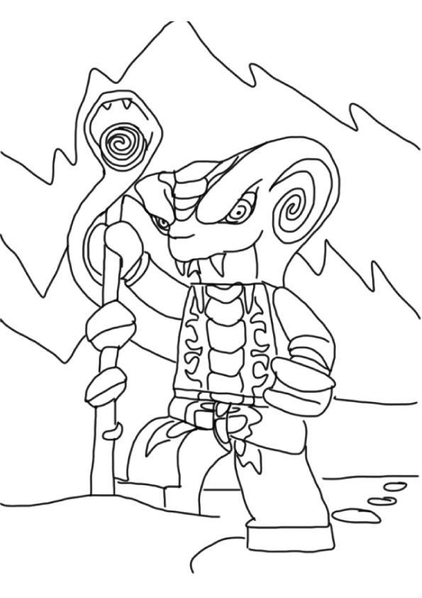 Slithraa-a4.jpg 595 × 842 pixlar   Ninjago coloring pages ...