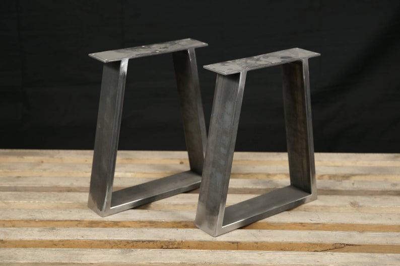 Onwijs Steel Bench Legs, Coffee Table Legs, Metal legs, Square Bench Base OS-56
