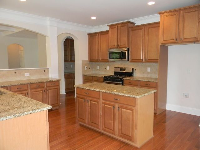 Birdseye Maple Kitchen With Stainless Appliances