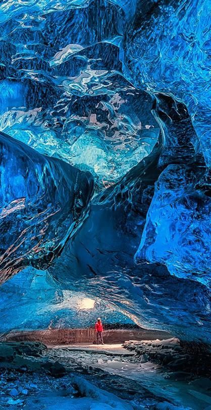 The Vatnajökull glacier, Iceland. #iceland #glacier #ice