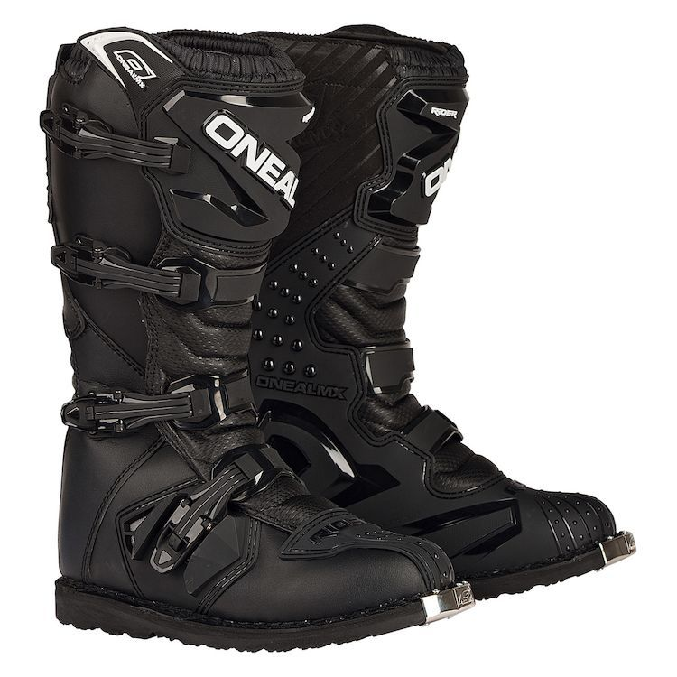 Built to the quality of a first class racing boot but sold at an entry-level price, the O'Neal Rider Off-Road Boots simply can't be beat for overall value and style!