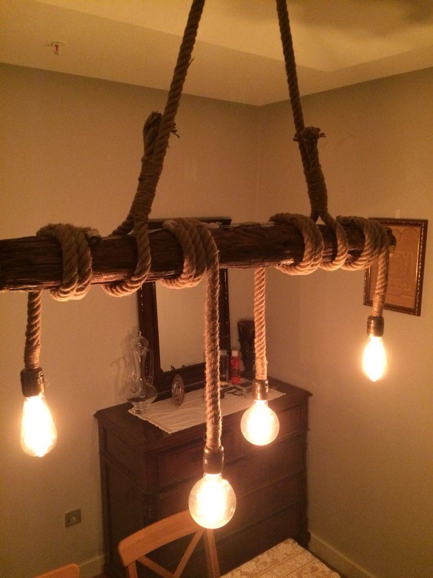 Old tree lighting design | Otantik lamba | Pinterest | Wohnideen ...