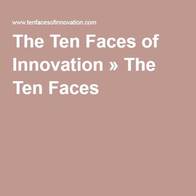 The Ten Faces of Innovation » The Ten Faces