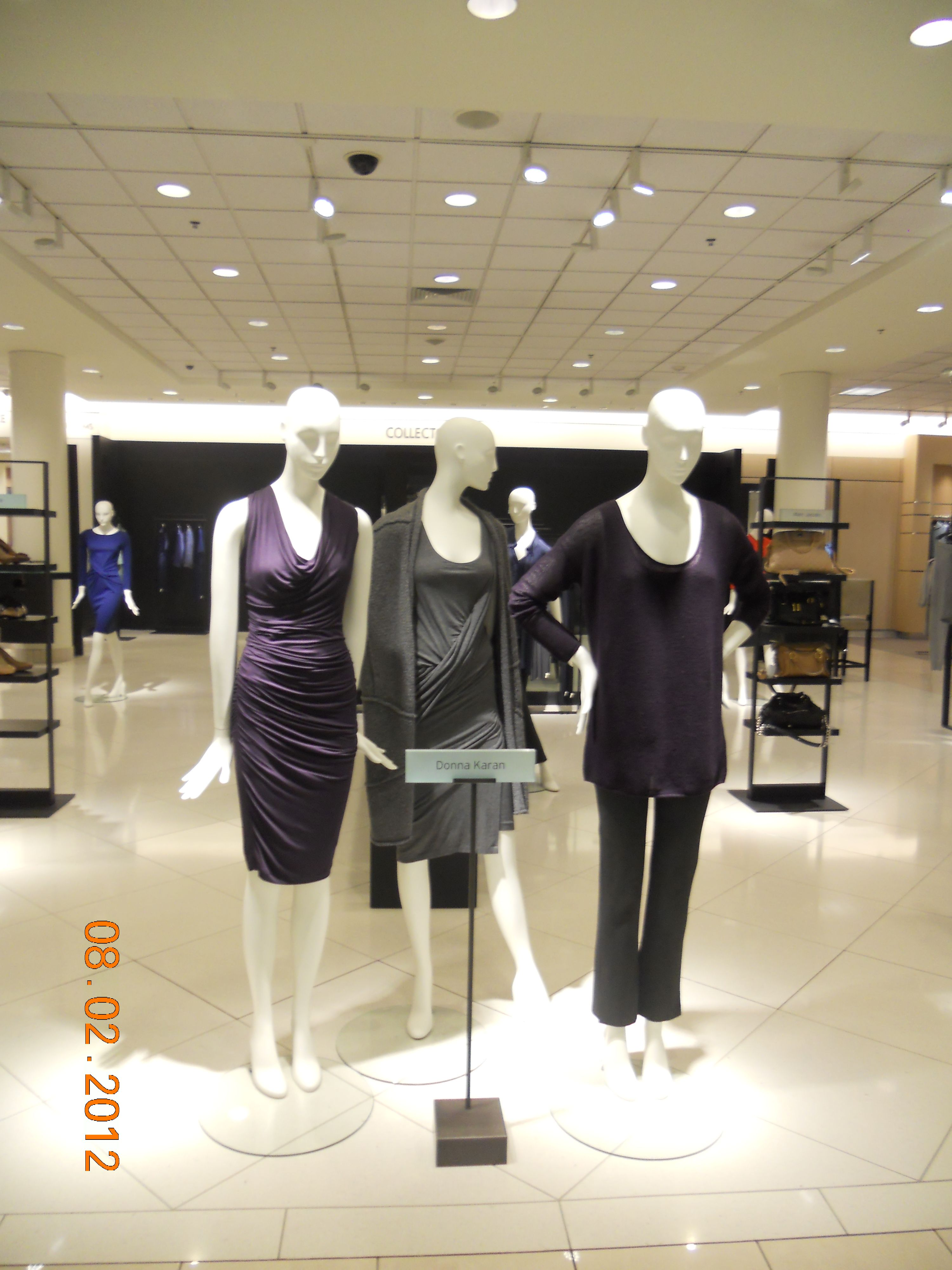 #DonnaKaran display #Nordstrom  #SouthParkMall in Charlotte, NC