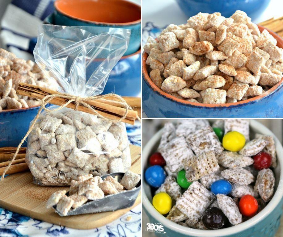 A Dozen Puppy Chow Chex Mix Recipes Chex mix recipes