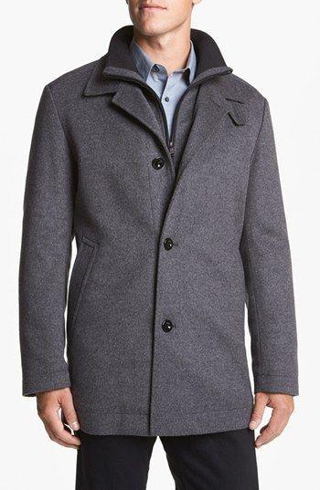 BOSS HUGO BOSS 'Coxtan' Wool Coat (Save Now through 12/9)