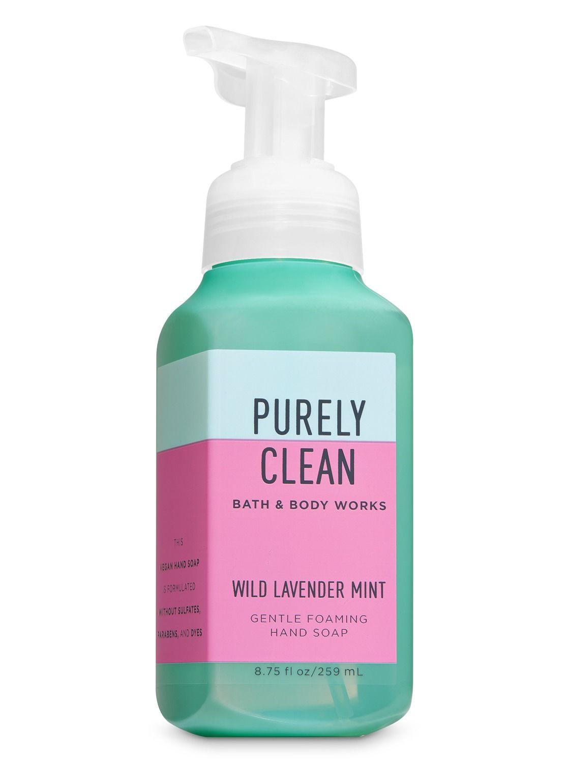 Wild Lavender Mint Gentle Foaming Hand Soap By Bath Body Works