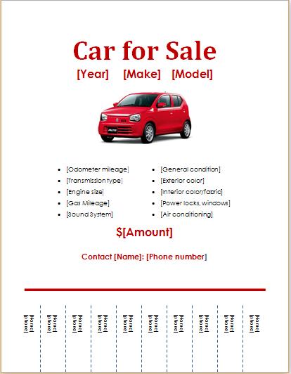 Car Sale Flyer Download At HttpWwwDoxhubOrgDownloadCarFor