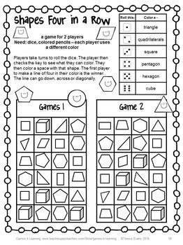 Challenger image with printable math games 2nd grade
