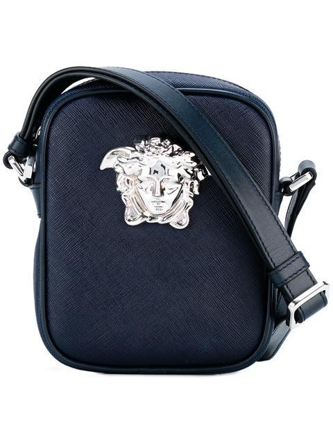 eec903e3f6 VERSACE small Palazzo Medusa shoulder bag.  versace  bags  shoulder bags   leather