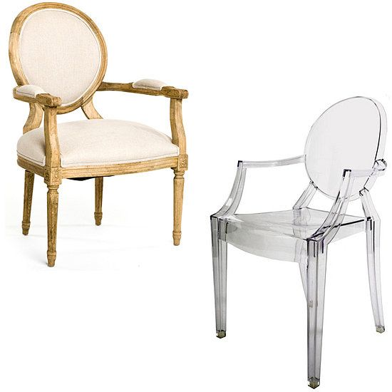 Iconic Design Louis Ghost Chair Ghost chairs Modern and