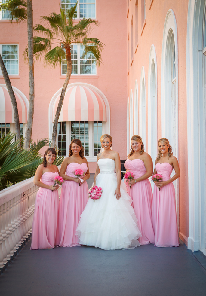 Traditional Pink Romance At The Don Cesar Beach Resort That Pink