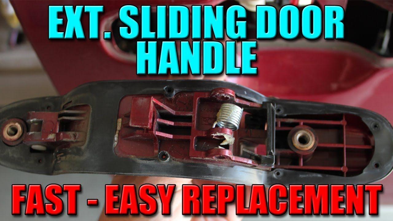 How To Fix Minivan Door Handle Toyota Sienna Pinterest Door
