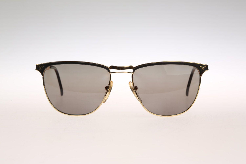 e24fd34b99 Police Vogart Line 2085 Hand Made   Vintage aviator sunglasses   90s Metal  wayfarer by CarettaVintage on Etsy