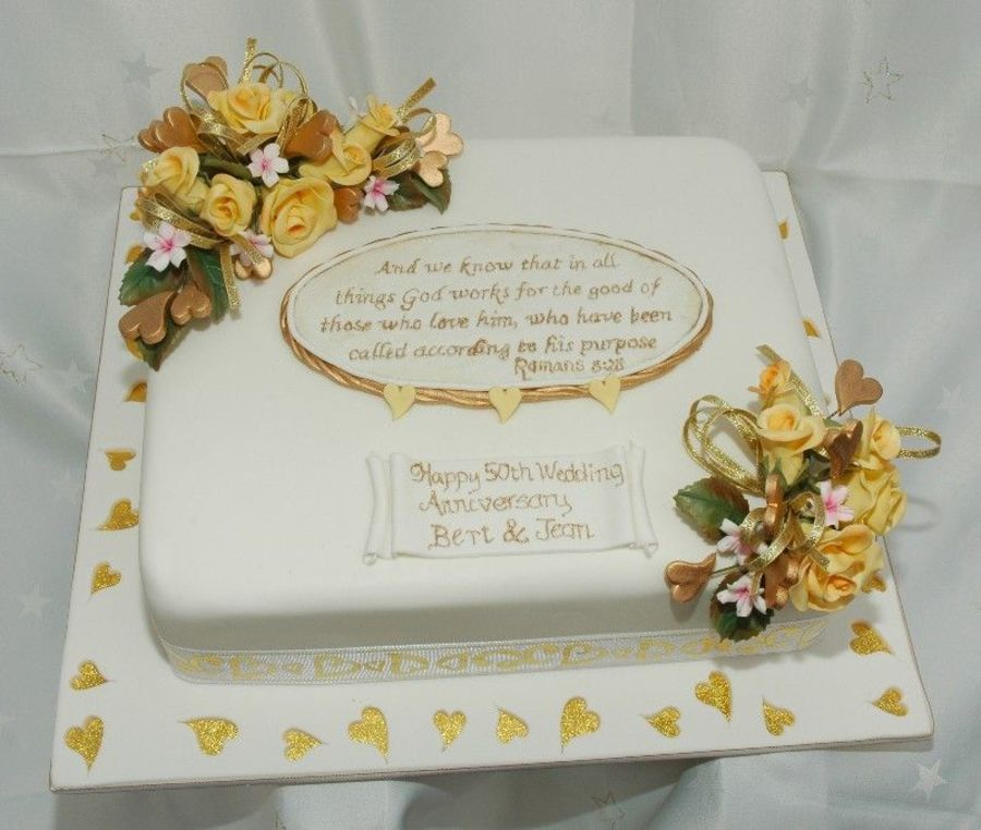 33++ 50th wedding anniversary cakes square ideas in 2021