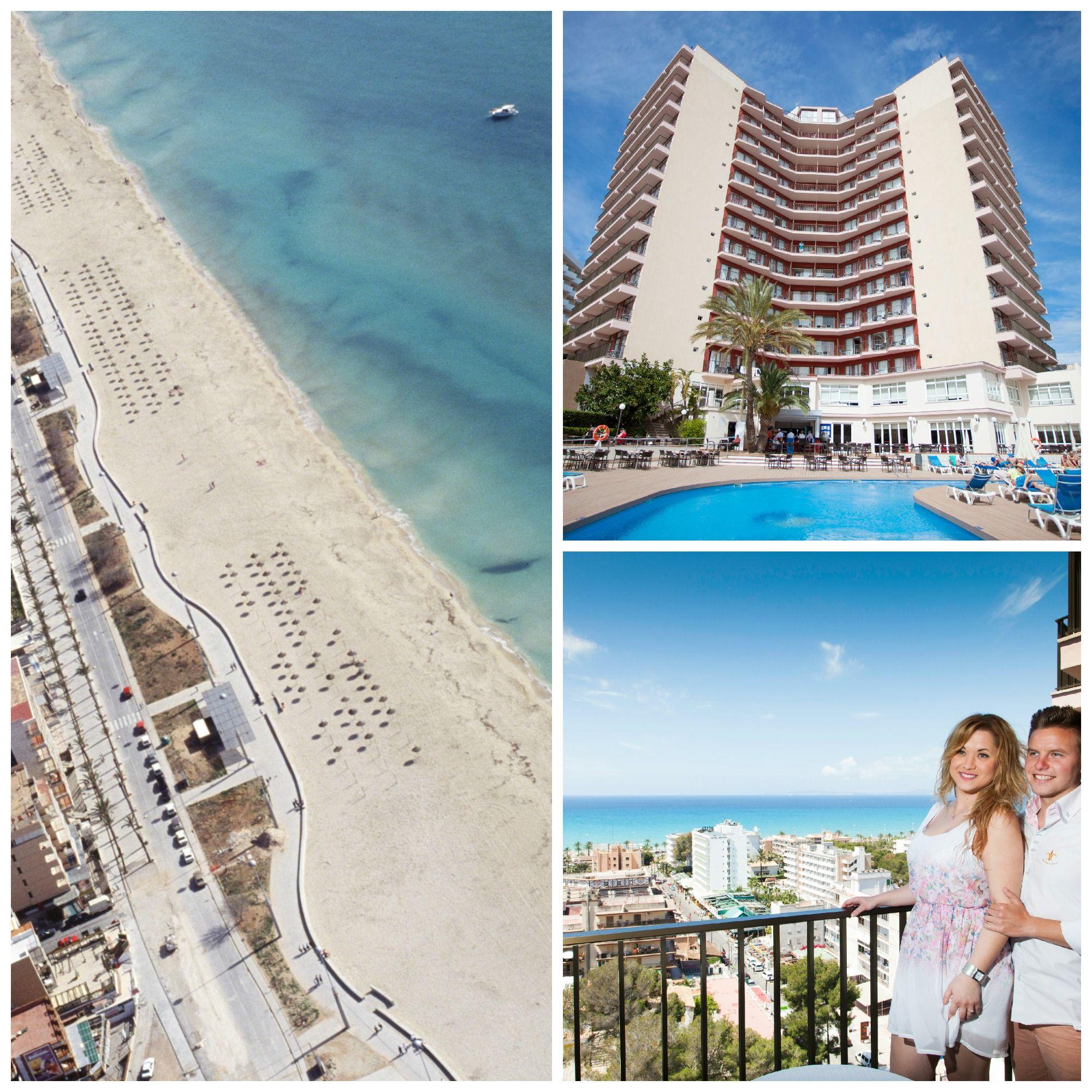 Playa de Palma - kun haluat lomailla keskeisellä sijainnilla lähellä rantaa ja huvituksia.