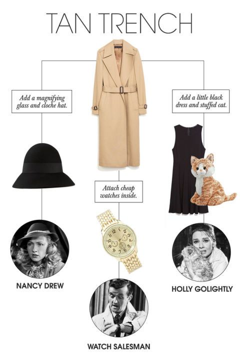 9 Halloween Costumes You Can With Pieces Make From Your Closet - halloween costume ideas from your closet