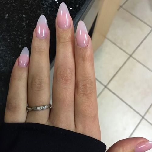 Best Almond Nails 22 Of The Best Almond Nails Fav Nail Art Clear Acrylic Nails Almond Nails Designs Paris Nails