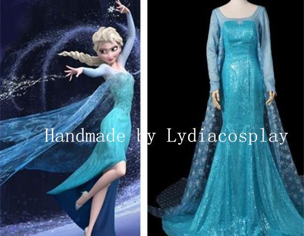Handmade Elsa Dress Costume Queen By Lydiacosplay 149 00