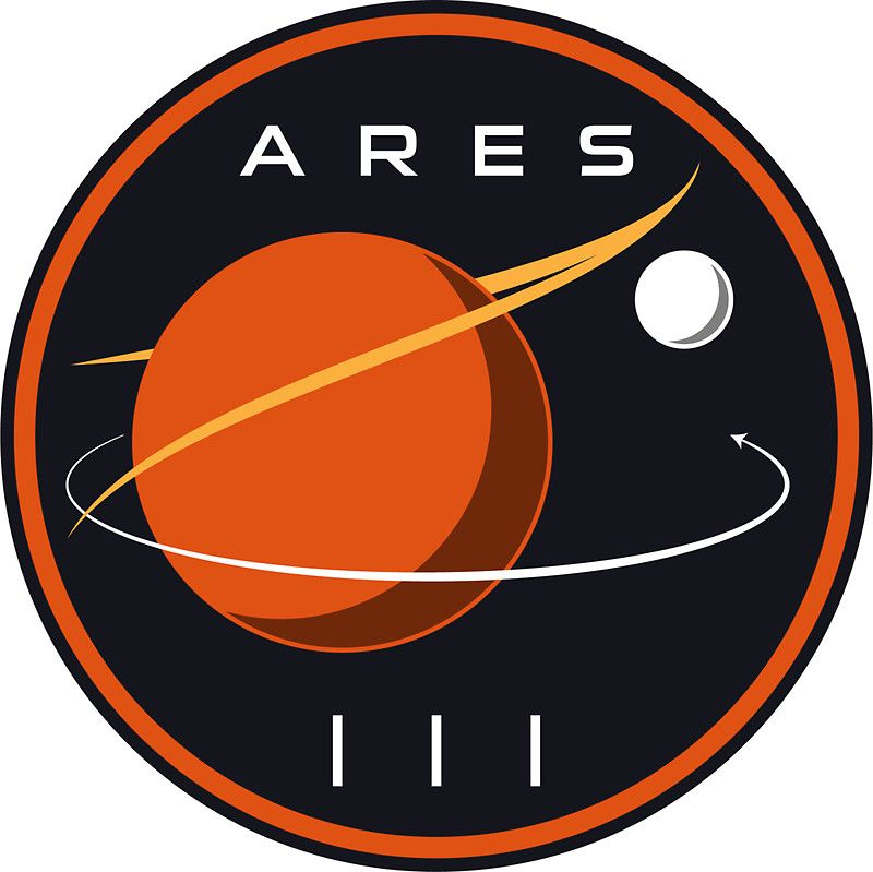 Ares 3 mission to Mars - The Martian iphone 11 case