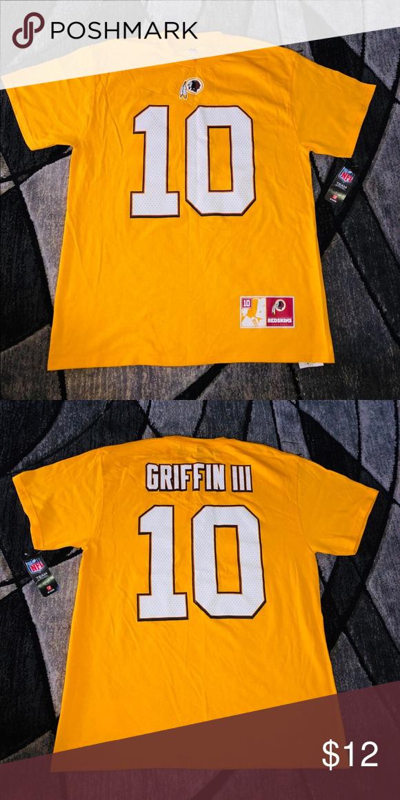 RG3 Redskins T-shirt Brand new RG3 Washington Redskins shirt size L NFL  Shirts Tees 3453ee7ea