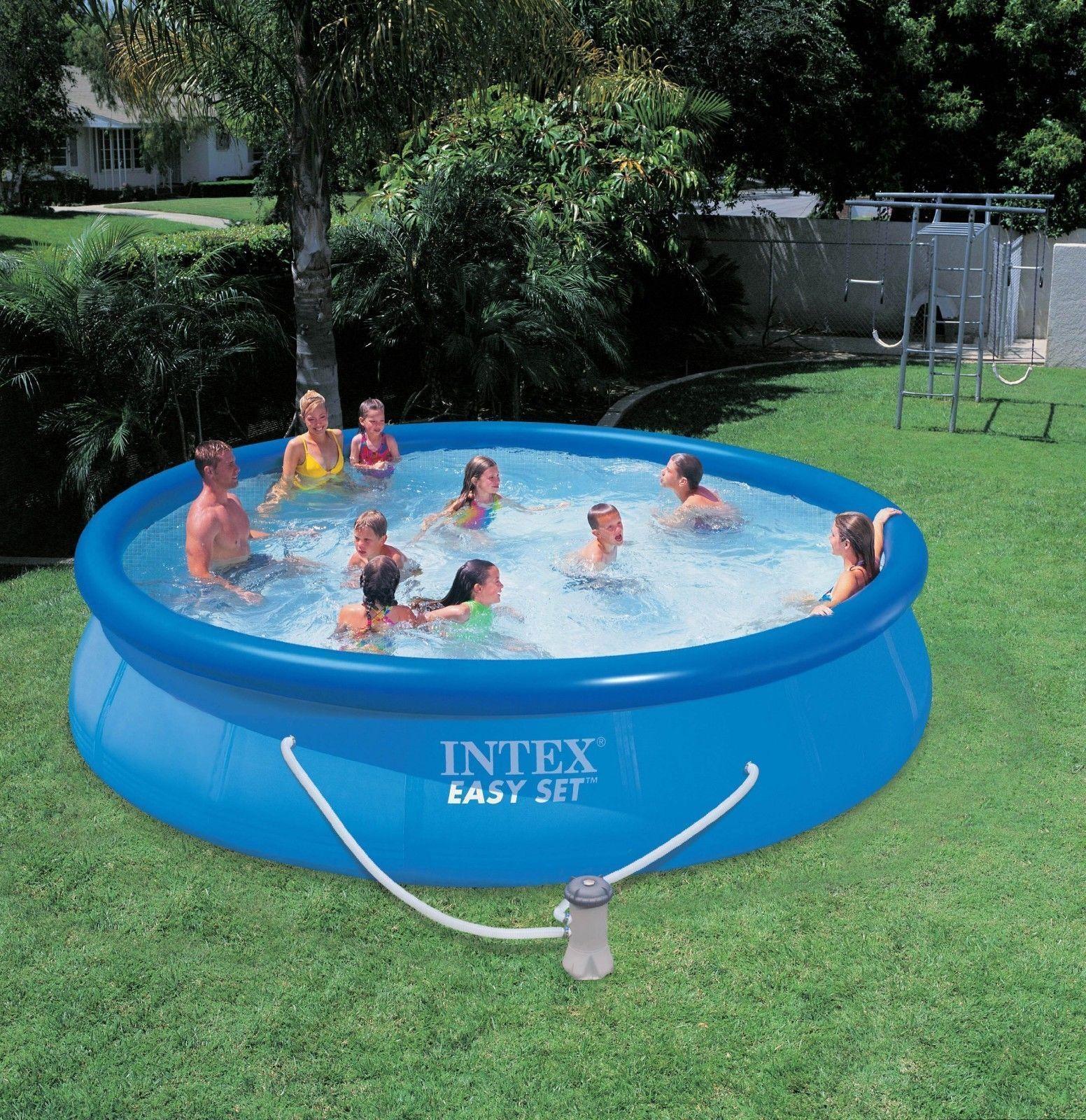 Intex 15ft X 36in Easy Set Pool Set 28161 Easy Set Pools